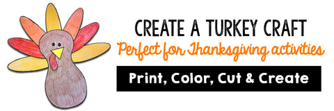 Create A Turkey Craft