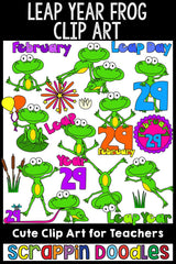 Leap Year Clip Art
