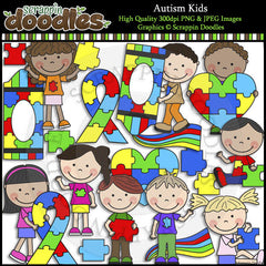 Autism Awareness Clip Art