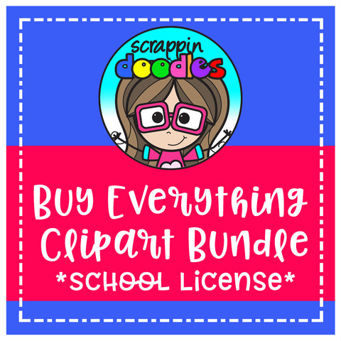 Buy Everything Clip Art Bundle - 1 School License
