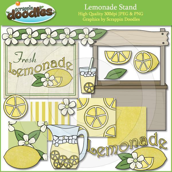 Lemonade Stand Clip Art Download