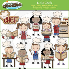 Little Chefs Clip Art Download