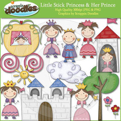 Little Stick Princess & Her Prince Download