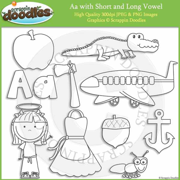A - Short and Long Vowel