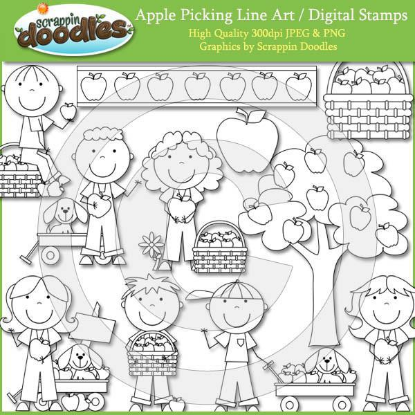 Apple Orchard Kids - Apple Tree Clip Art Download