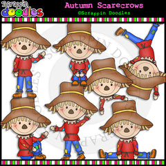 Autumn Scarecrows