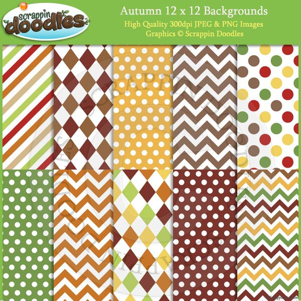 Autumn 12x12 Backgrounds Download