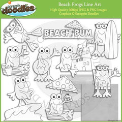 Beach Frogs