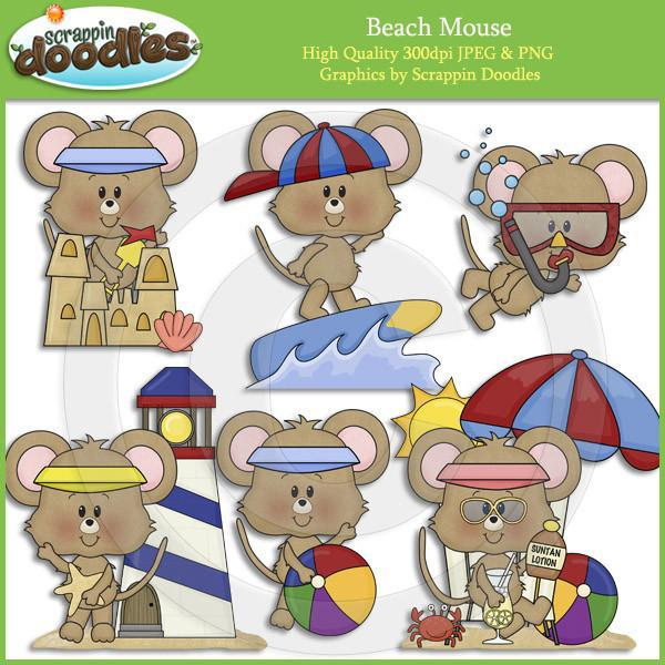 Beach Mouse Clip Art Download