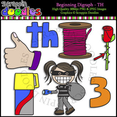 Beginning Digraph - TH Clip Art