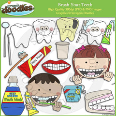 Brush Your Teeth Clip Art