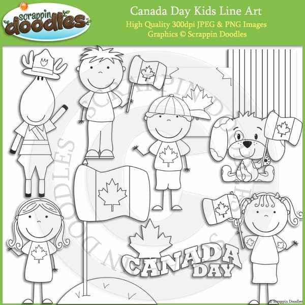 Canada Day Kids