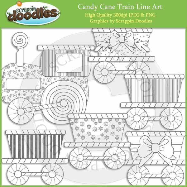 Candy Cane Train
