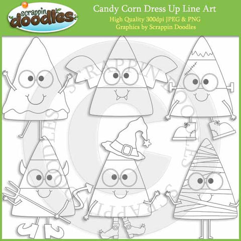Candy Corn Dress Up