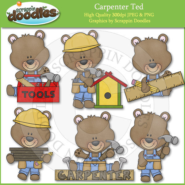 Carpenter Ted Clip Art Download