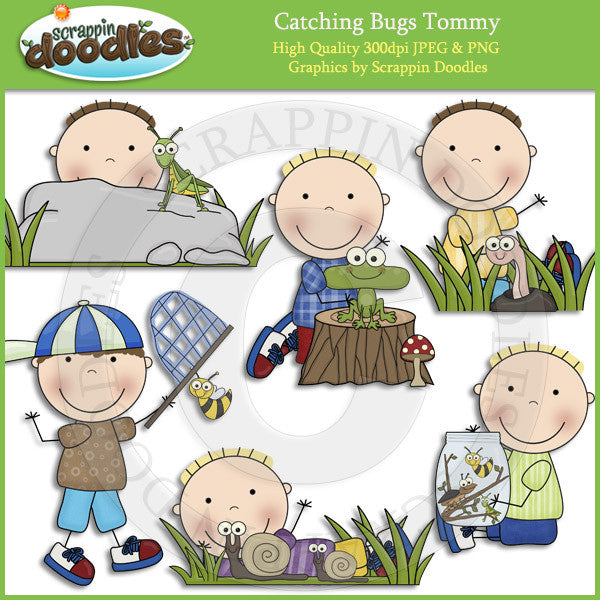 Catching Bugs Susie & Tommy