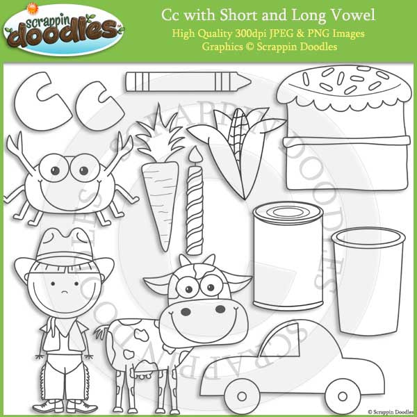 C - Short and Long Vowel