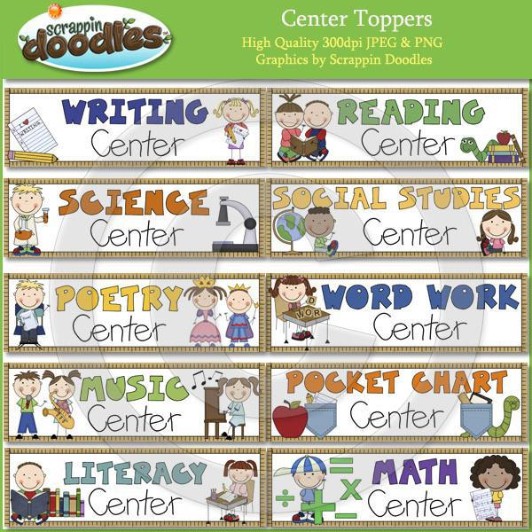 Center Toppers -  Set of 20 Download