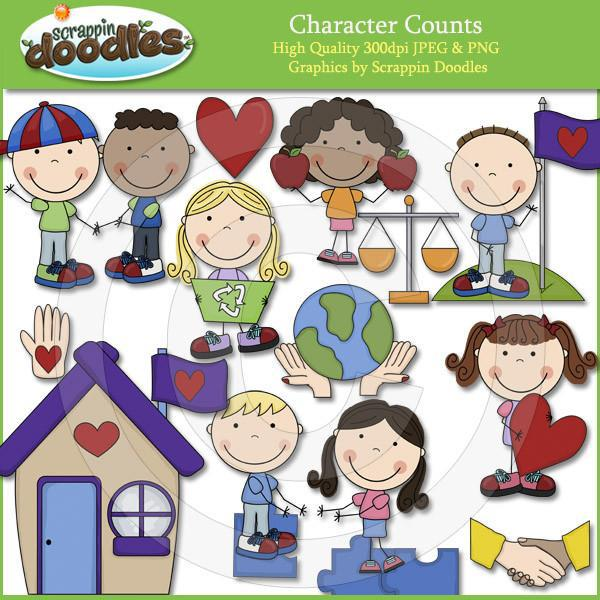Character Counts Clip Art Download