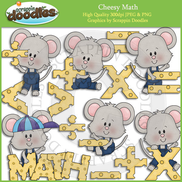 Cheesy Math Clip Art Download
