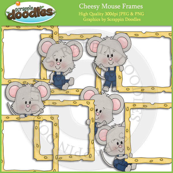 Cheesy Mouse Frames Clip Art Download