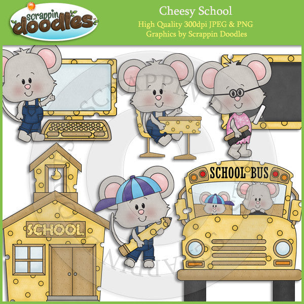 Cheesy School Clip Art Download