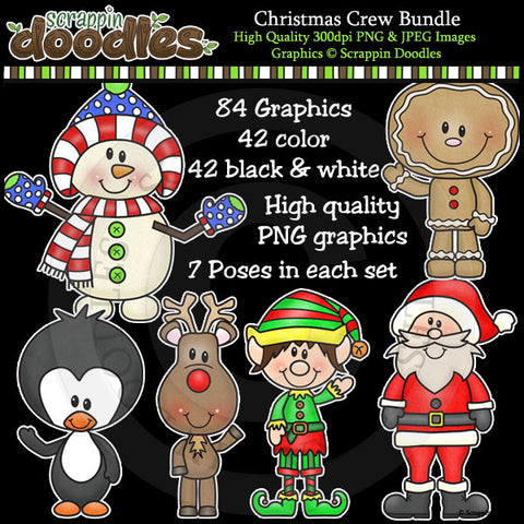 Christmas Crew MEGA Bundle ($21 Value)