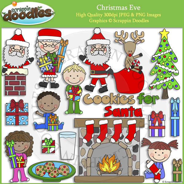 Christmas Eve Clip Art