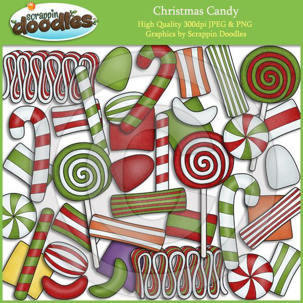 Christmas Candy Clip Art Download