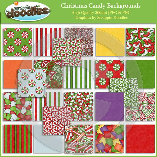 Christmas Candy Backgrounds Download