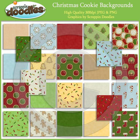 Christmas Cookie Backgrounds Download