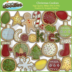 Christmas Cookies Clip Art Download