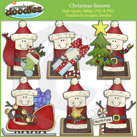 Christmas Smores Clip Art Download