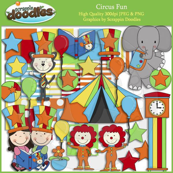 Circus Fun Clip Art Download