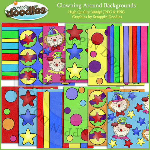 Clowning Around Backgrounds Download