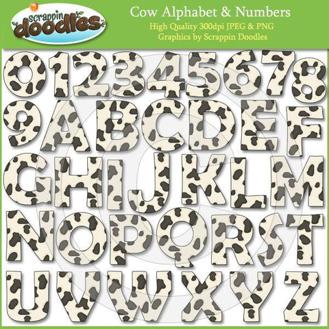 Cow Alpha & Numbers Download