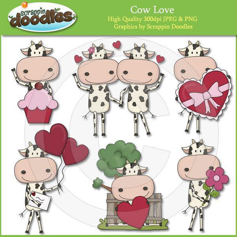 Cow Love Clip Art Download