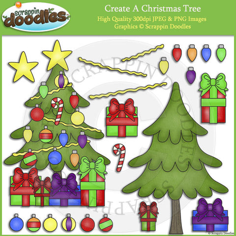 Create A Christmas Tree Clip Art