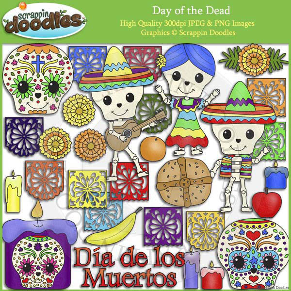 Day of the Dead Clip Art Download