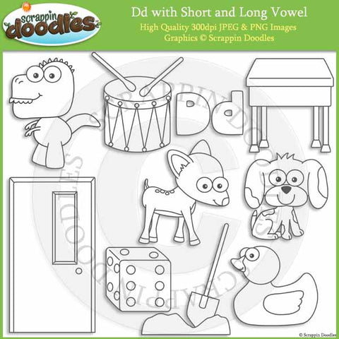 D - Short and Long Vowel