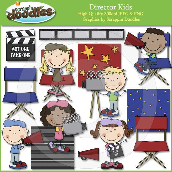 Director Kids Clip Art Download