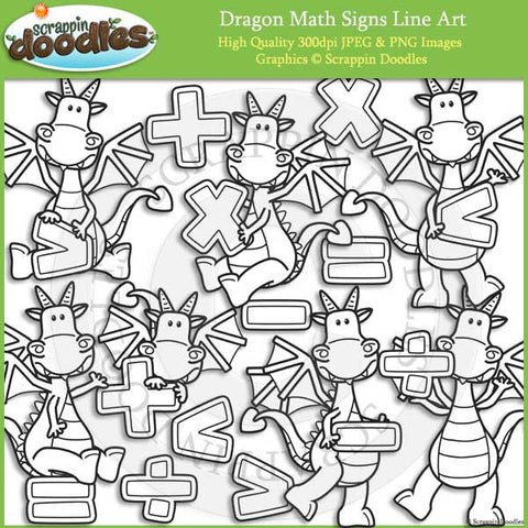 Dragon Math Signs