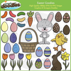 Easter Goodies Clip Art Download