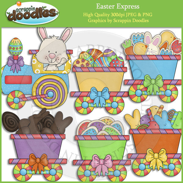 Easter Express Clip Art Download