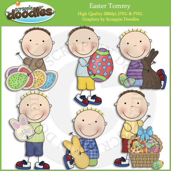 Easter Tommy Clip Art Download