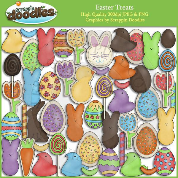 Easter Treats Clip Art Download