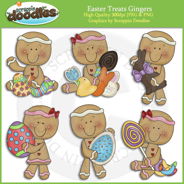 Easter Treats Ginger Clip Art Download