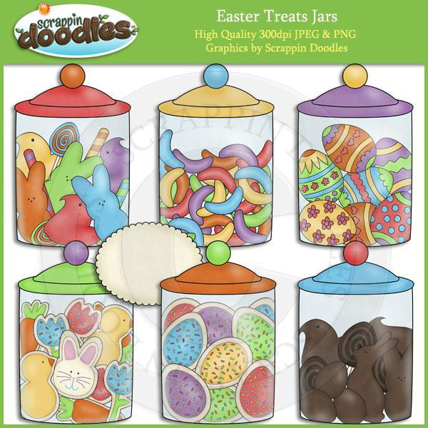Easter Treats Jars Download