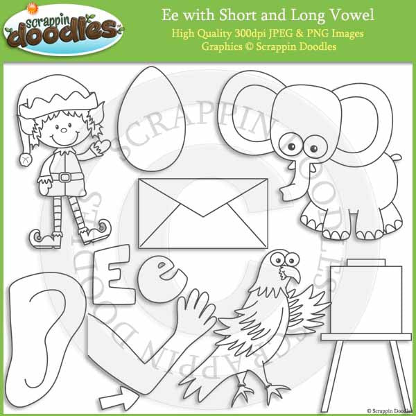 E - Short and Long Vowel