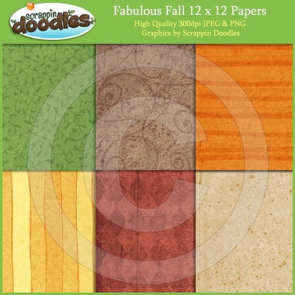 Fabulous Fall 12x12 Papers Download